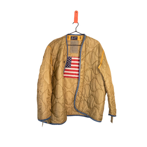 One Of A Kind Vintage Military Jacket #6