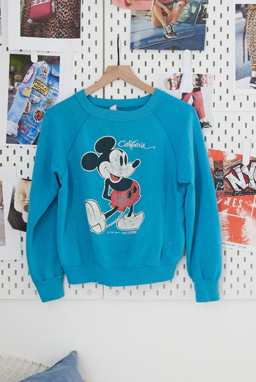 Vintage Cali Mickey Pullover