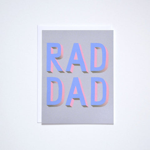 Rad Dad Note Card
