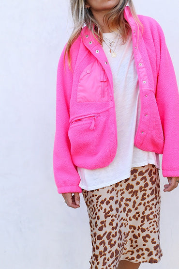 Hit The Slopes Jacket - Pink