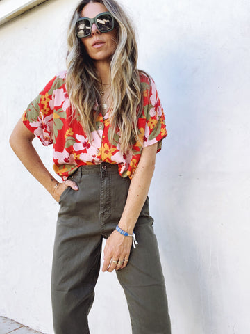 Tropics Button Down
