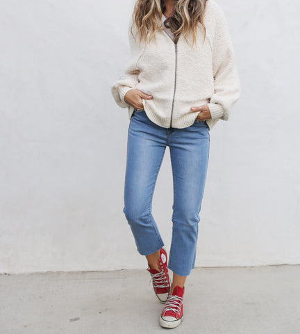 Indie Ivory Sweater