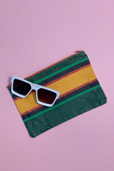 Vintage Stripe Clutch 3
