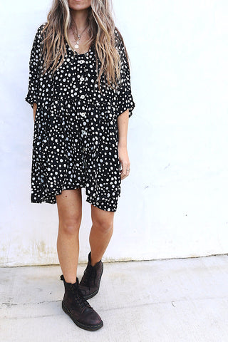 Coco Tunic Dress Black