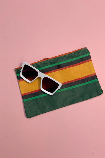 Vintage Stripe Clutch 7