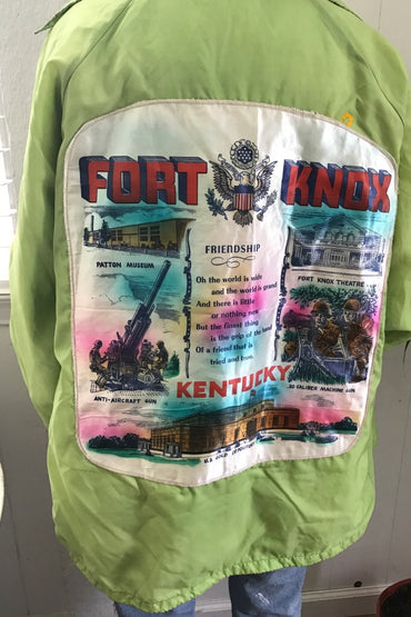 Fort Knox Green Jacket