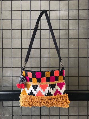 Maze Cross Body Bag