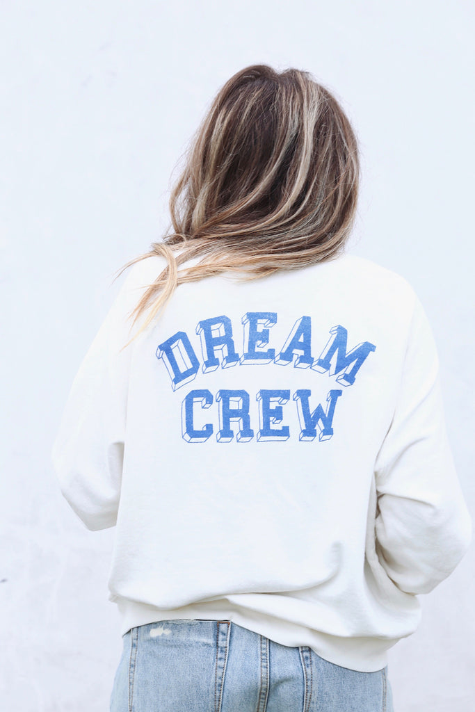 Dream Crew Varsity Crew Sweatshirt