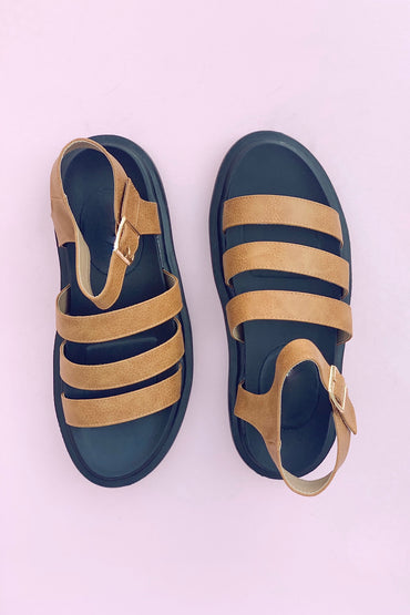 Virgo Sandal - Tan