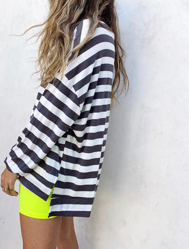 James Striped Top