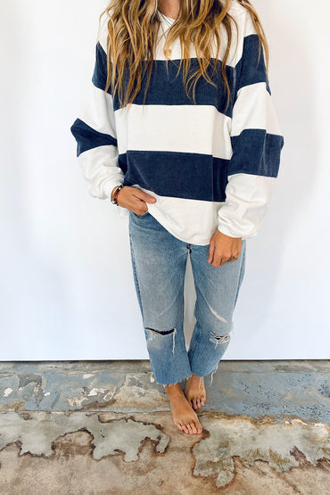 Kacey Corduroy Pullover