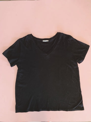 Sunset V Neck Black