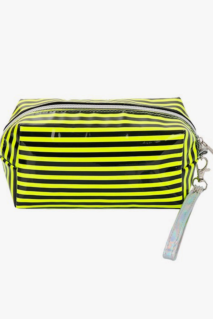 Neon Stripes Pouch