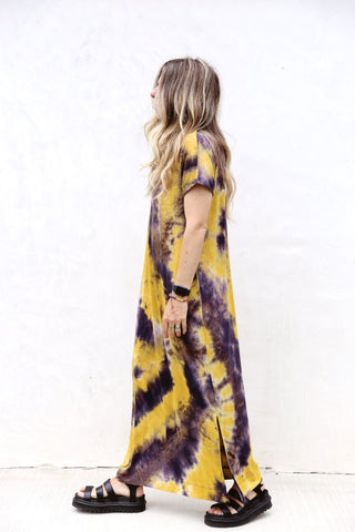 Midnight Tie Dye Dress