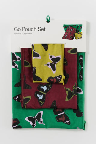 Go Pouch Set - Butterfly