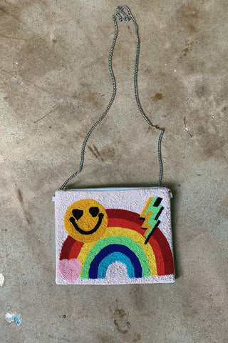 Happy Face Crossbody Bag