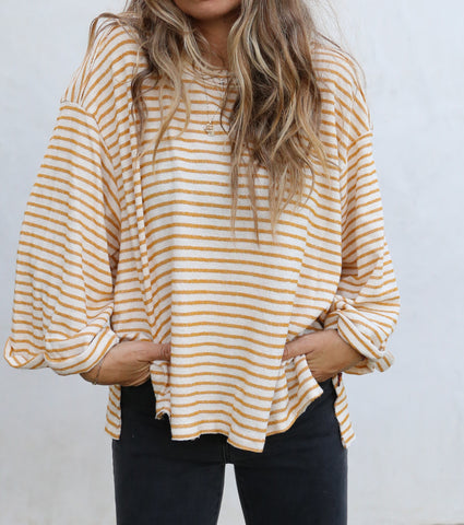 Romee Stripe Top