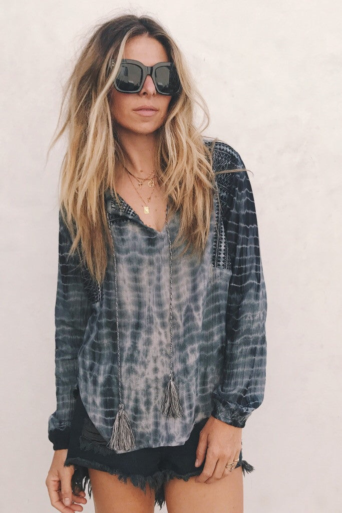 Andres Blouse / tie dye