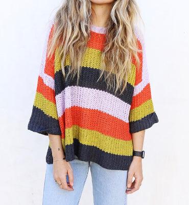 Cayla Knit Pullover