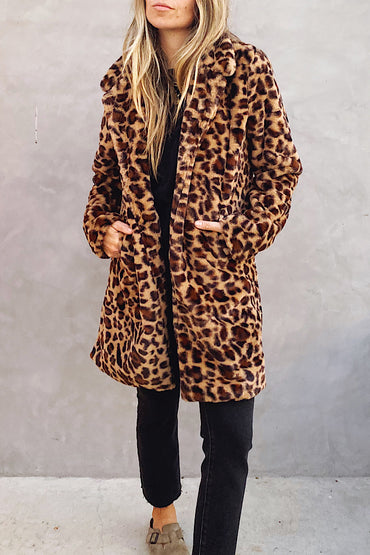 The Mocha Leopard Jacket