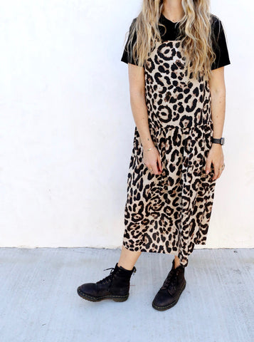 Willow Leopard Dress