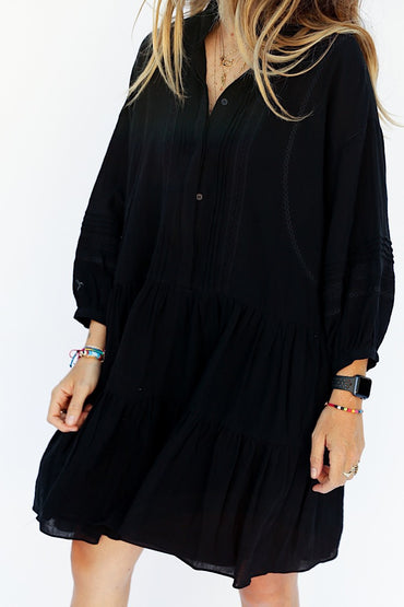 The Florent Dress - Black