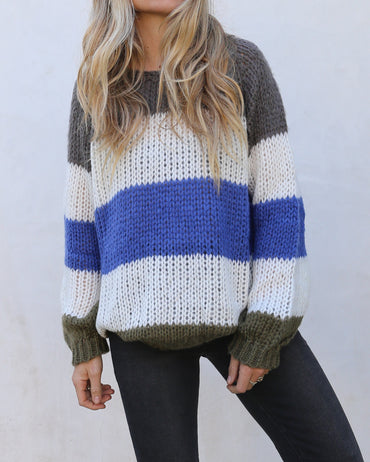 Holden Stripe Sweater