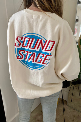 Cream Sound Stage Pullover