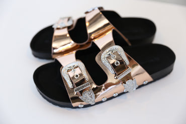 Lynn Sandal Rose Gold