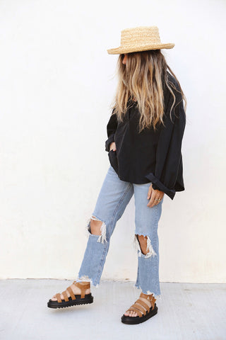 Maggie Mid-Rise Straight-Leg Jeans