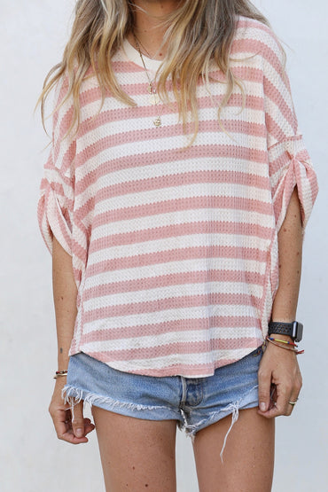 Sofie oversized stripe tunic