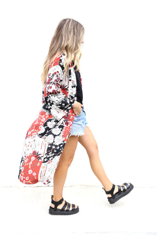 Floral Duster
