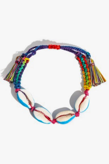 Multi Color Shell Bracelet
