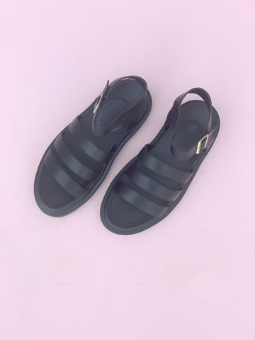 Virgo Sandal - Black