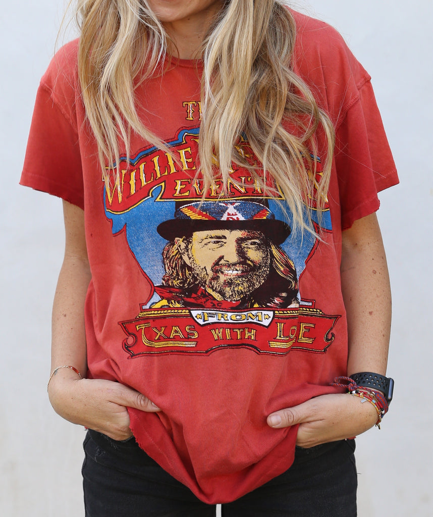 Willie Nelson From Texas With Love Tee