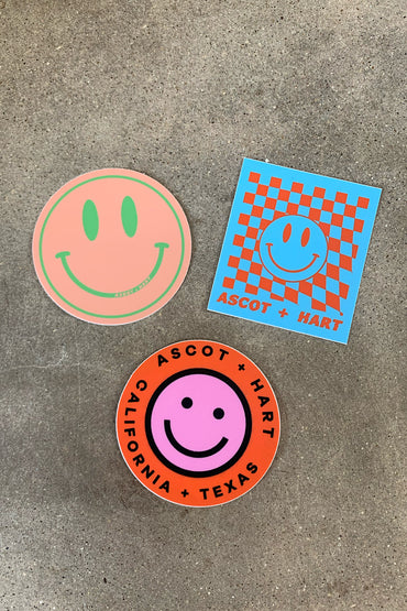 Smiley sticker pack
