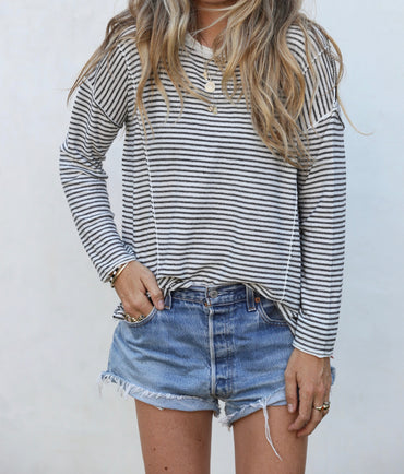 Lily Stripe Knit