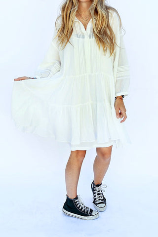The Florent Dress - Off White