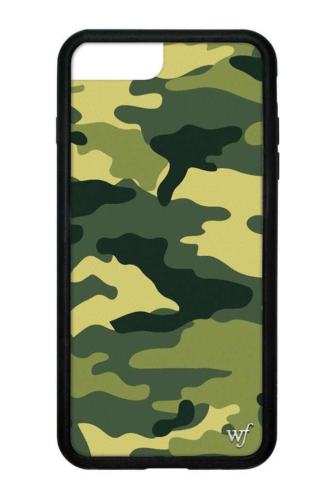 Green Camo iPhone 6+/7+/8+ Plus Case