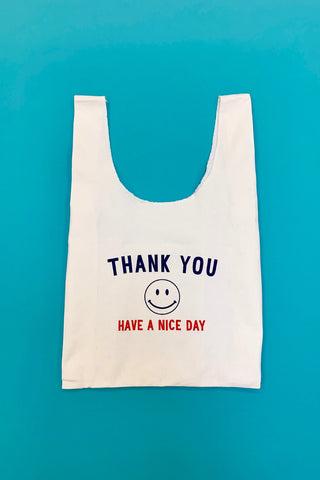 Have a nice day canvas bag