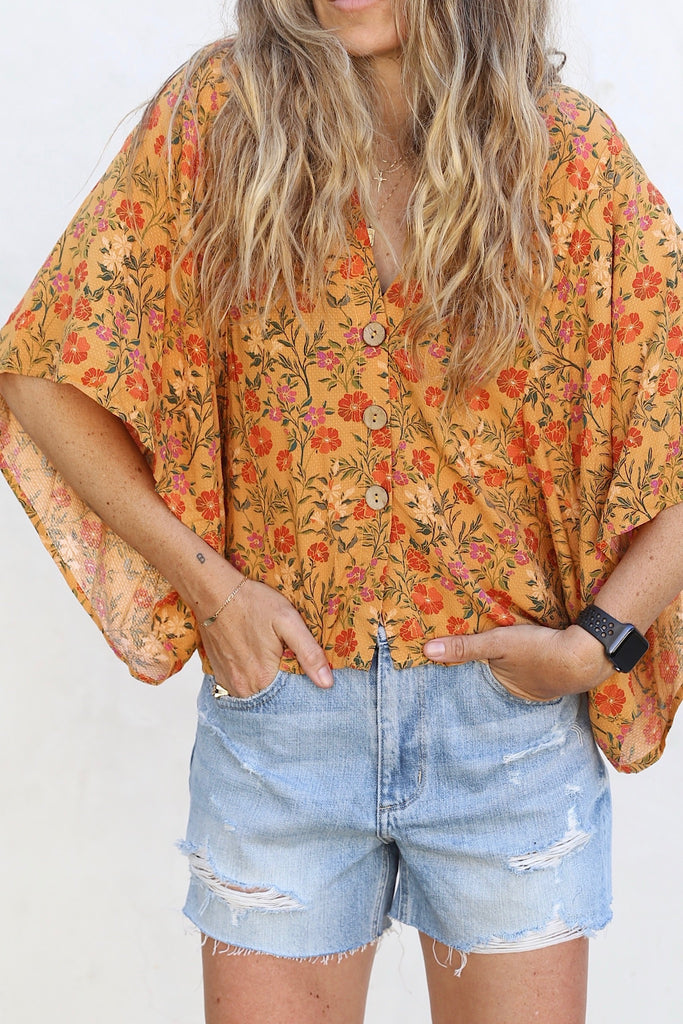 Golden Poppy Blouse