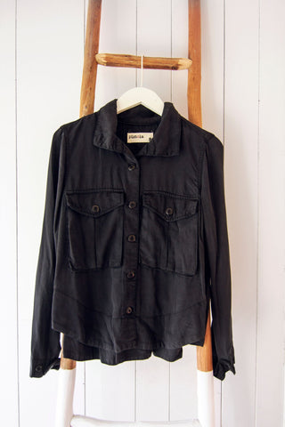 Wally Swing Shirt Black