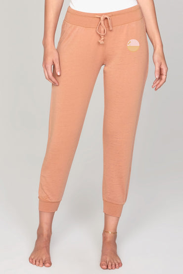 Weekend meditation pants Camel