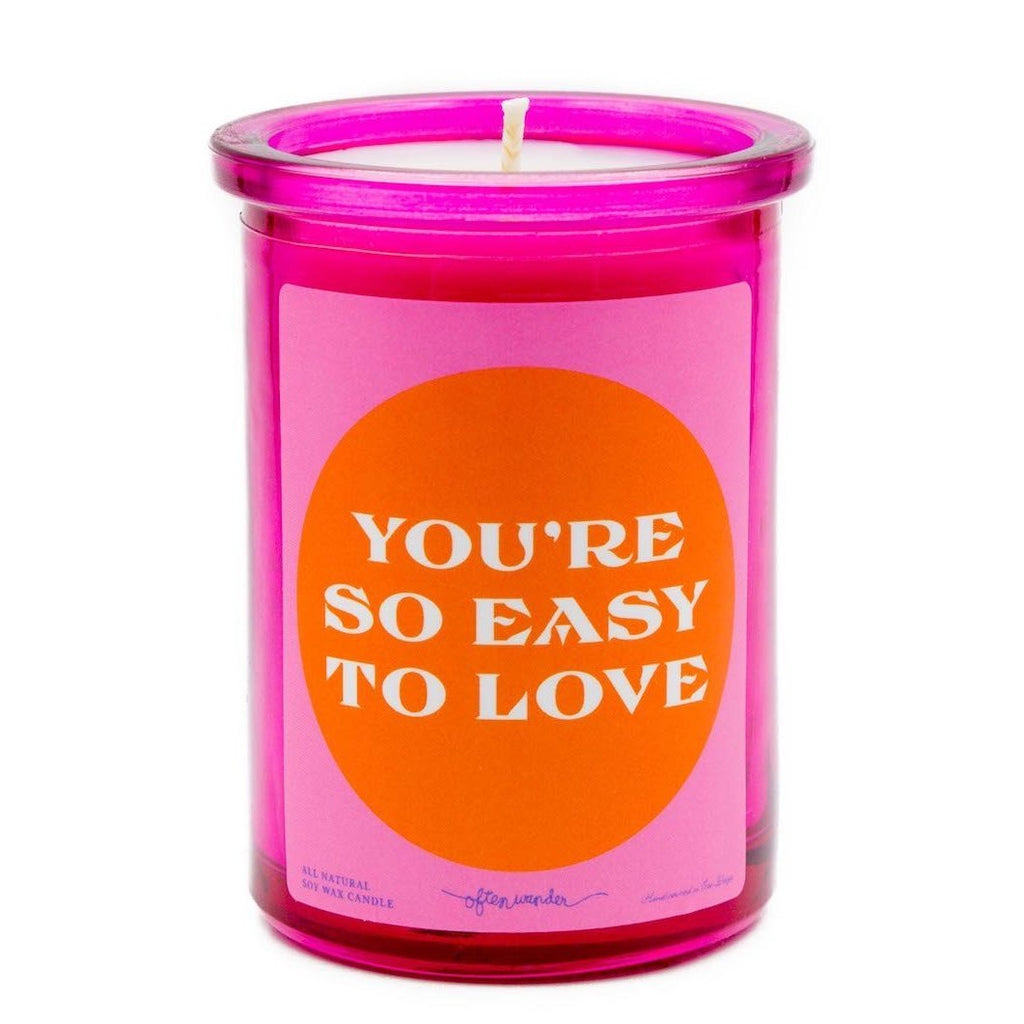 You're So Easy To Love Candle