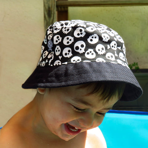 Sombrero Bucket Calaveras Mini