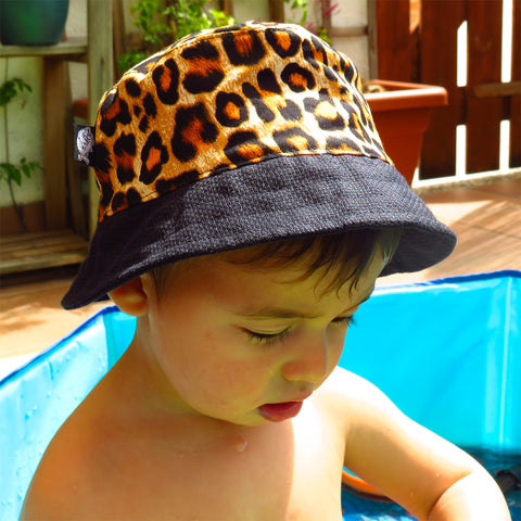 Barret Bucket Lleopard Mini