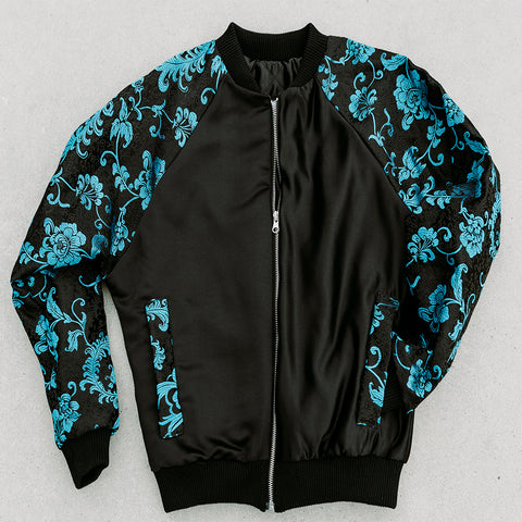 Bomber Jacket Brocade