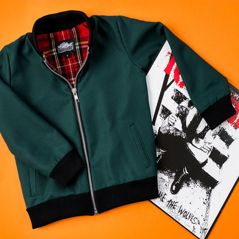 Barracuda Jacket Green