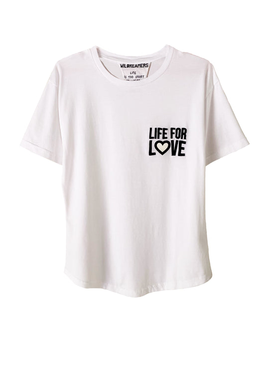 CAMISETA SOLIDARIA LIFE FOR LOVE