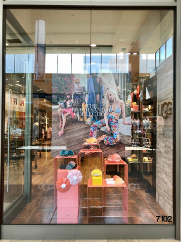 An effective window display offers products as well as an engaging story.